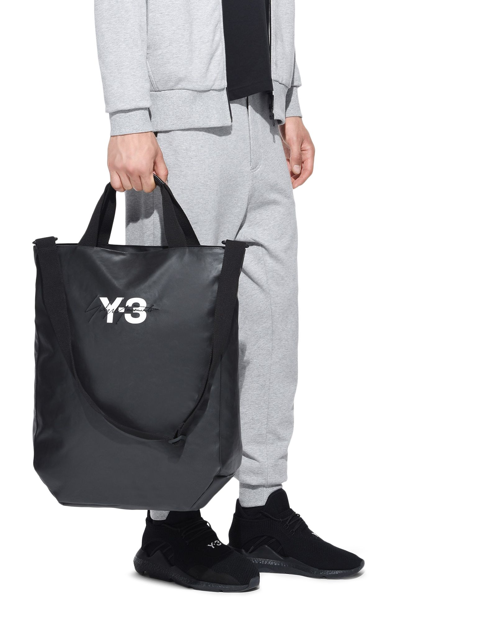 Y-3 Y-3 Logo Tote Bag Tote E a