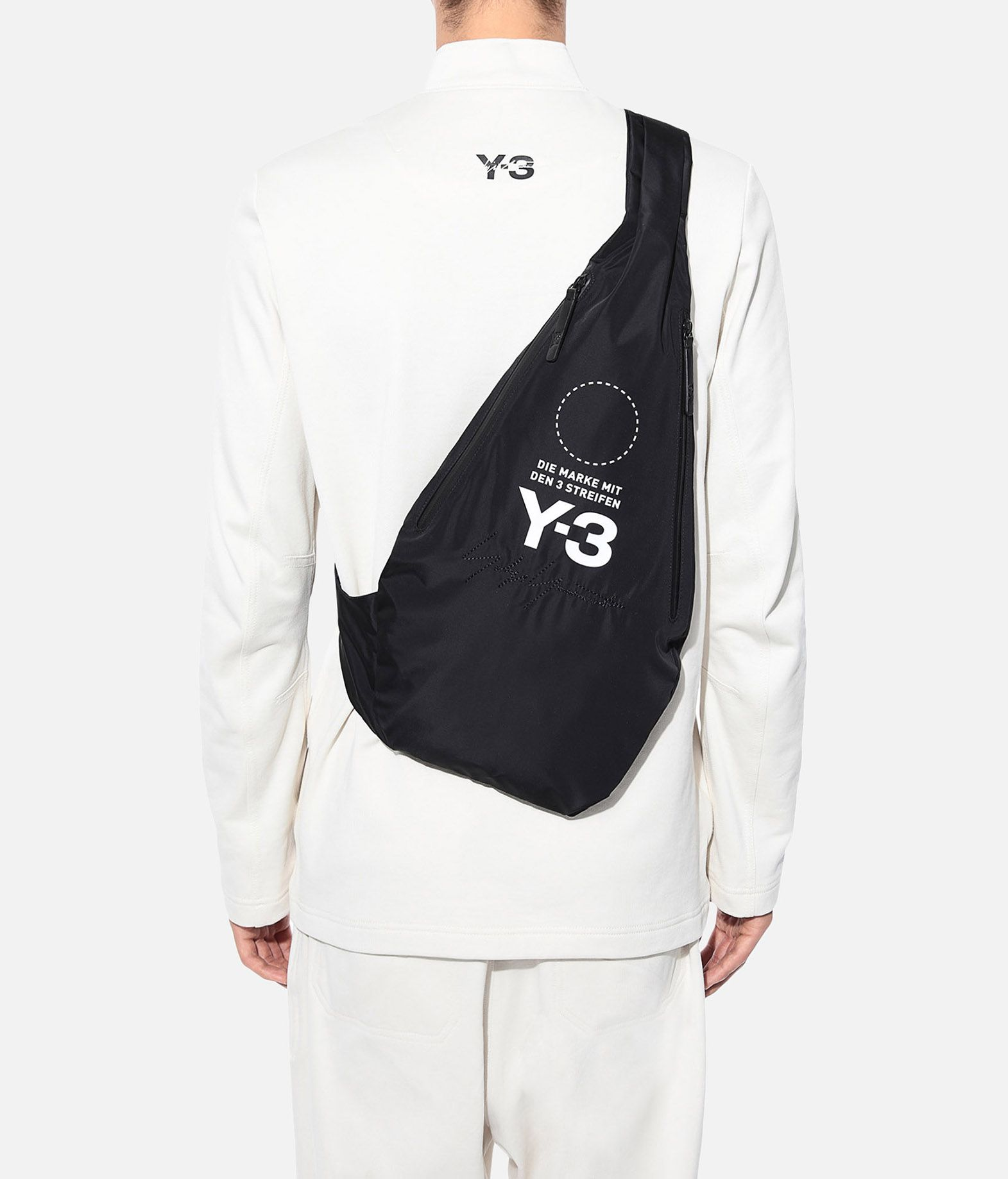 Y-3 Y-3 Yohji Messenger Bag Backpack E a