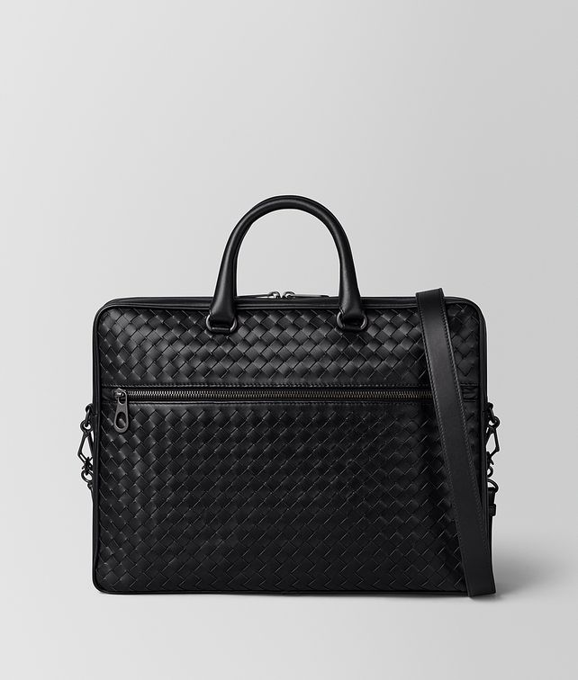 BOTTEGA VENETA NERO INTRECCIATO VN SMALL BRIEFCASE Business bag E fp