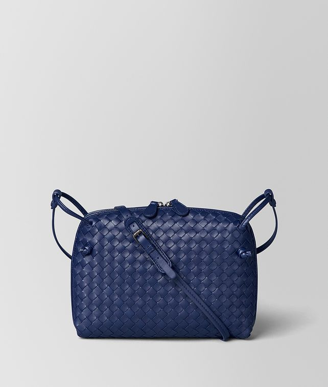 BOTTEGA VENETA ATLANTIC INTRECCIATO NAPPA MESSENGER Crossbody bag Woman fp