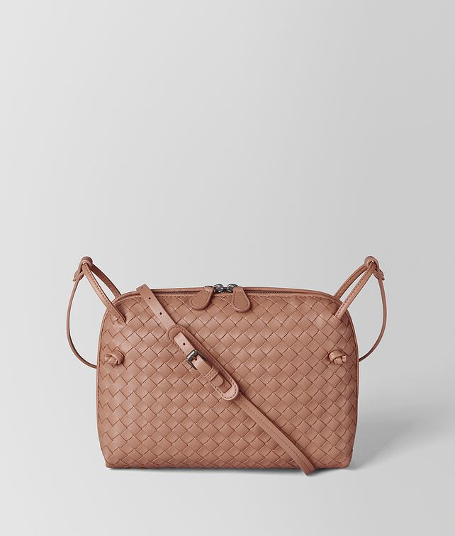 BOTTEGA VENETA DAHLIA INTRECCIATO NAPPA MESSENGER Crossbody and Belt Bags [*** pickupInStoreShipping_info ***] fp
