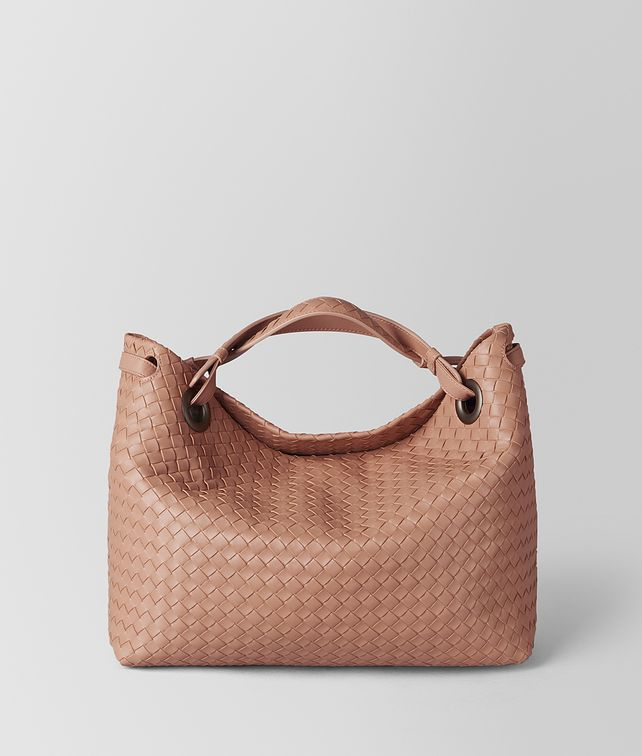 BOTTEGA VENETA BORSA A SPALLA IN INTRECCIATO NAPPA DAHLIA Shoulder Bag [*** pickupInStoreShipping_info ***] fp
