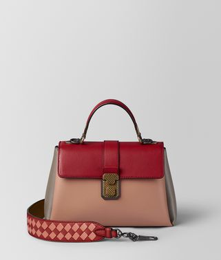 DAHLIA MULTICOLOR NAPPA PIAZZA BAG