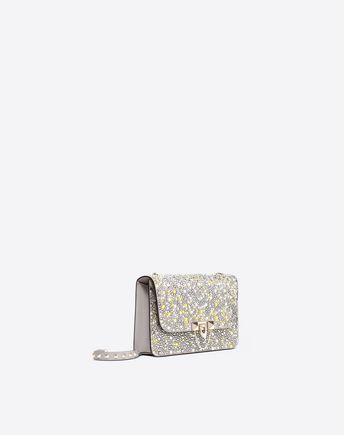 VALENTINO GARAVANI Shoulder bag D Free Rockstud Spike Small Chain Bag r