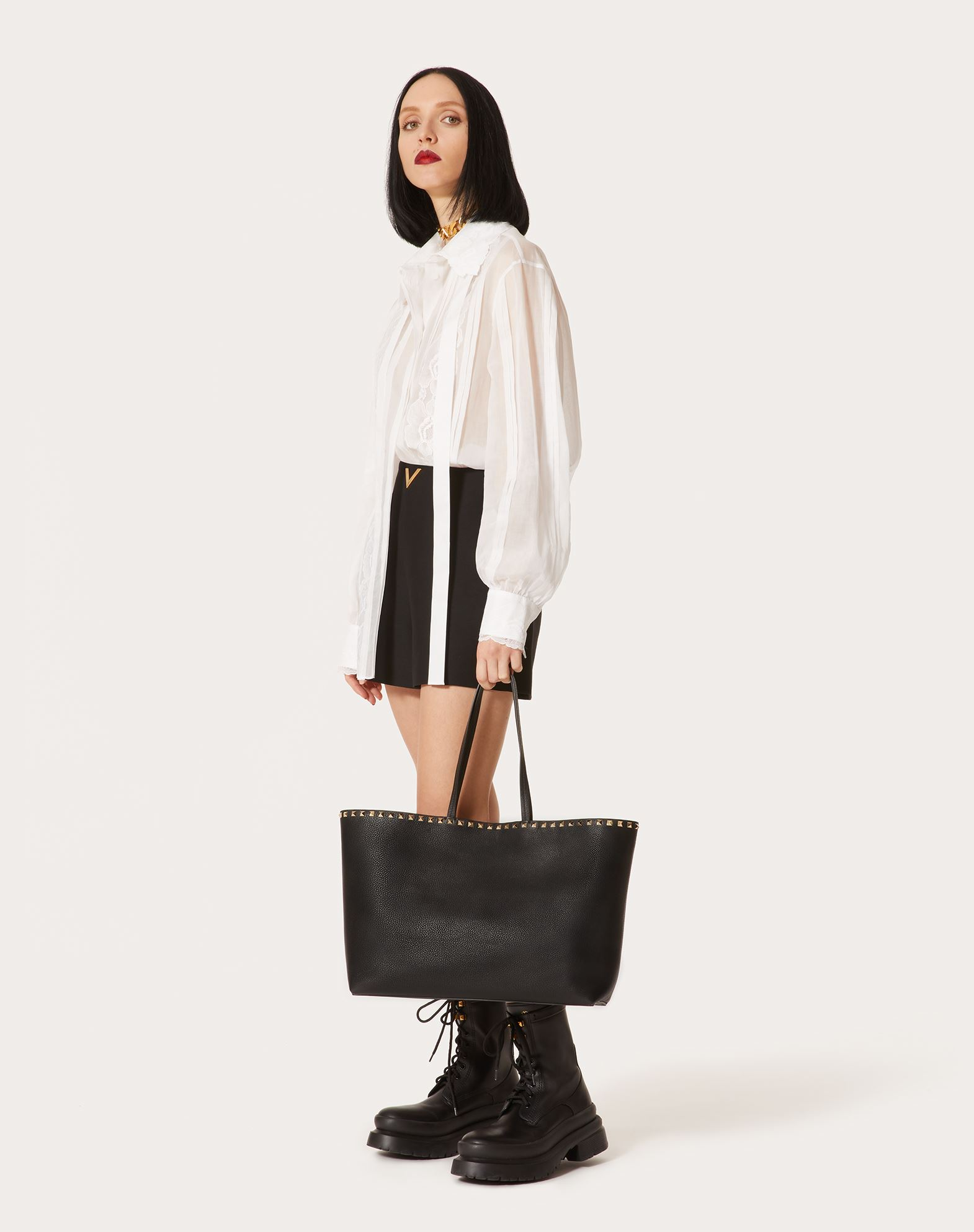 VALENTINO GARAVANI Rockstud 购物袋 Tote 手袋 D b
