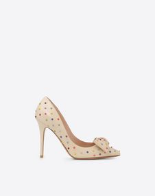 VALENTINO GARAVANI PUMPS TACCO ALTO D 蝴蝶结细节高跟鞋 f