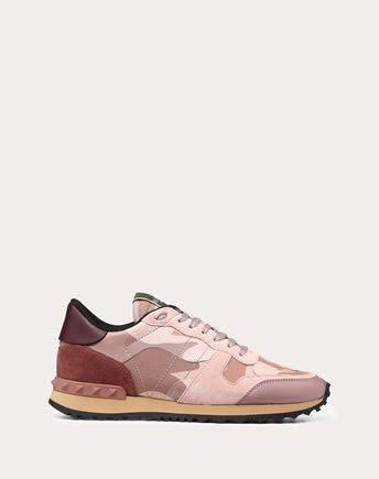 VALENTINO LOW-TOP SNEAKERS D Embroidered low-top Sneaker f