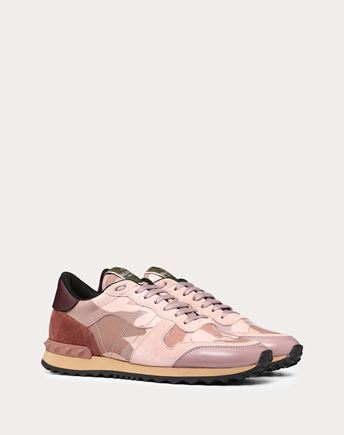 VALENTINO LOW-TOP SNEAKERS D Embroidered low-top Sneaker r