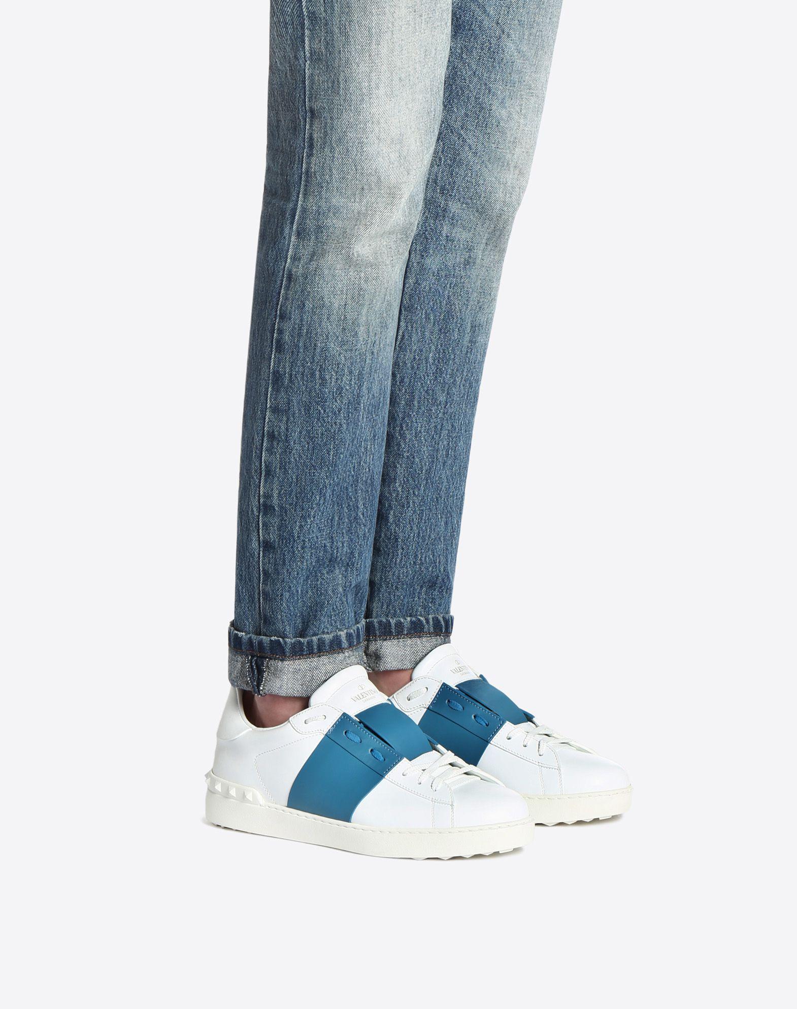 VALENTINO GARAVANI UOMO Sneaker Open  LOW-TOP SNEAKERS U a