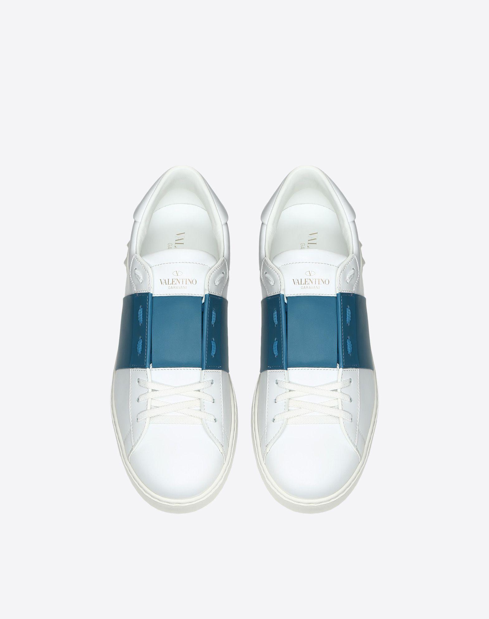 VALENTINO GARAVANI UOMO Sneaker Open  LOW-TOP SNEAKERS U e