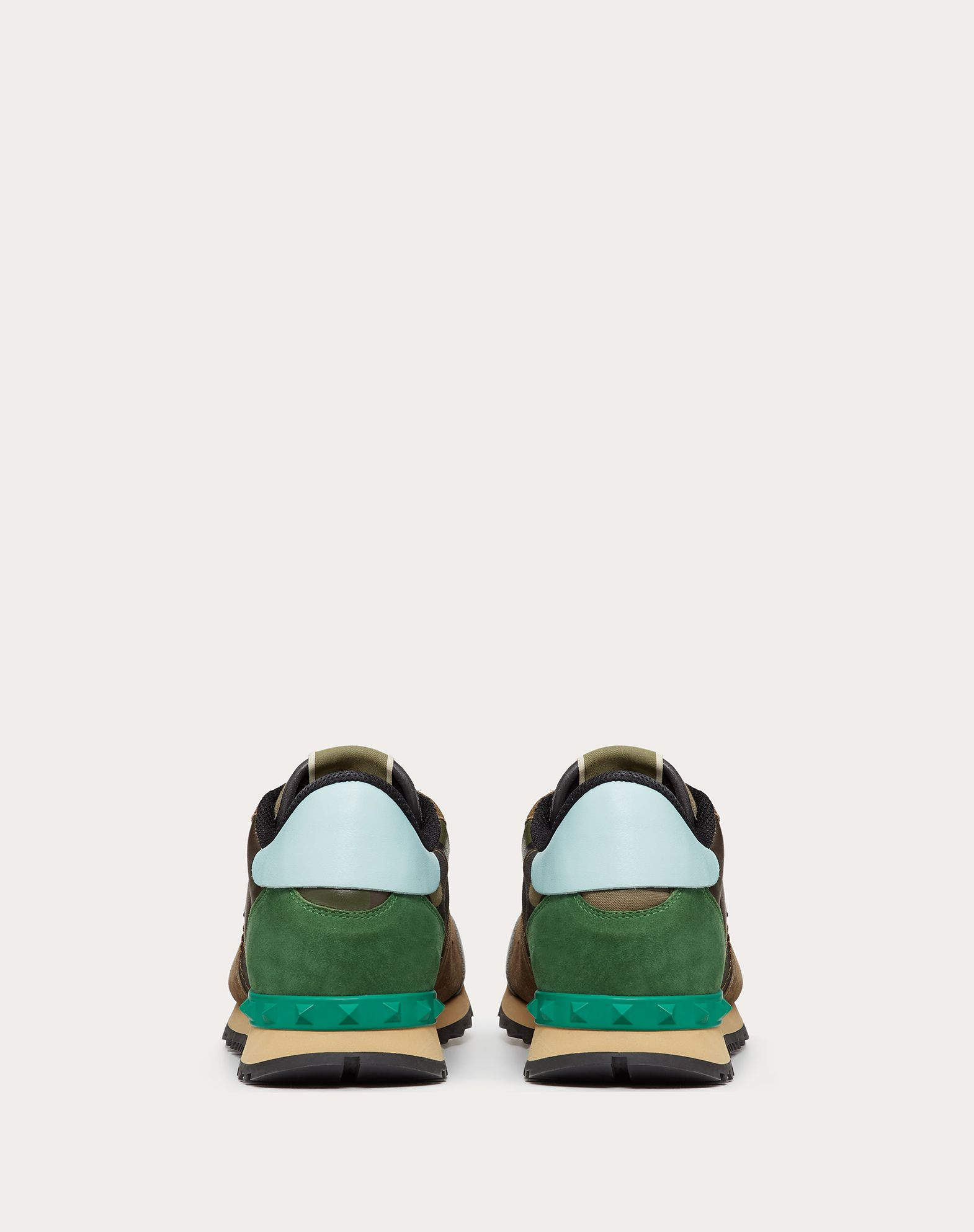 VALENTINO GARAVANI UOMO Sneaker Rockrunner Camouflage LOW-TOP SNEAKERS U d