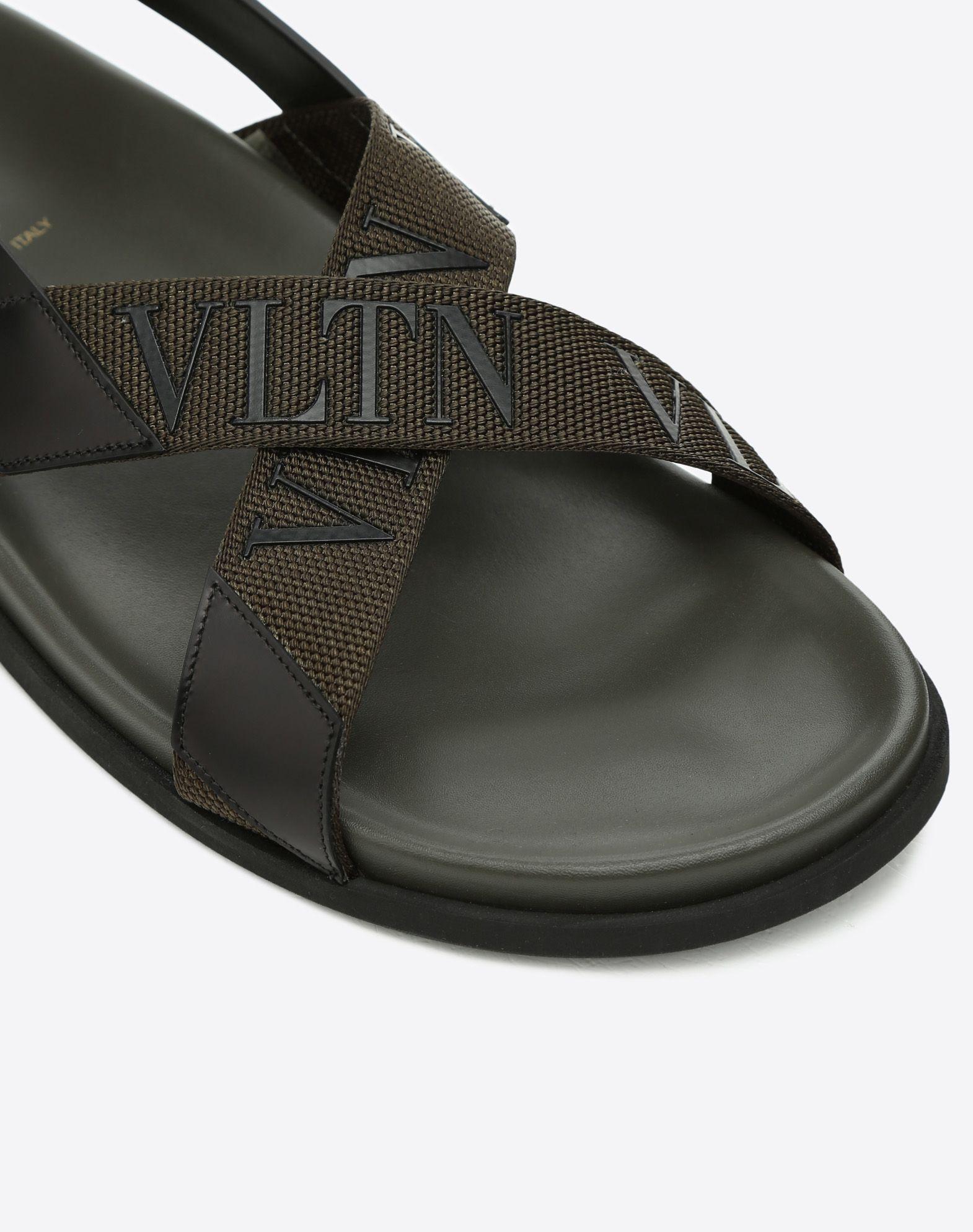 VALENTINO GARAVANI UOMO Low VLTN sandal  FLAT SANDALS U b
