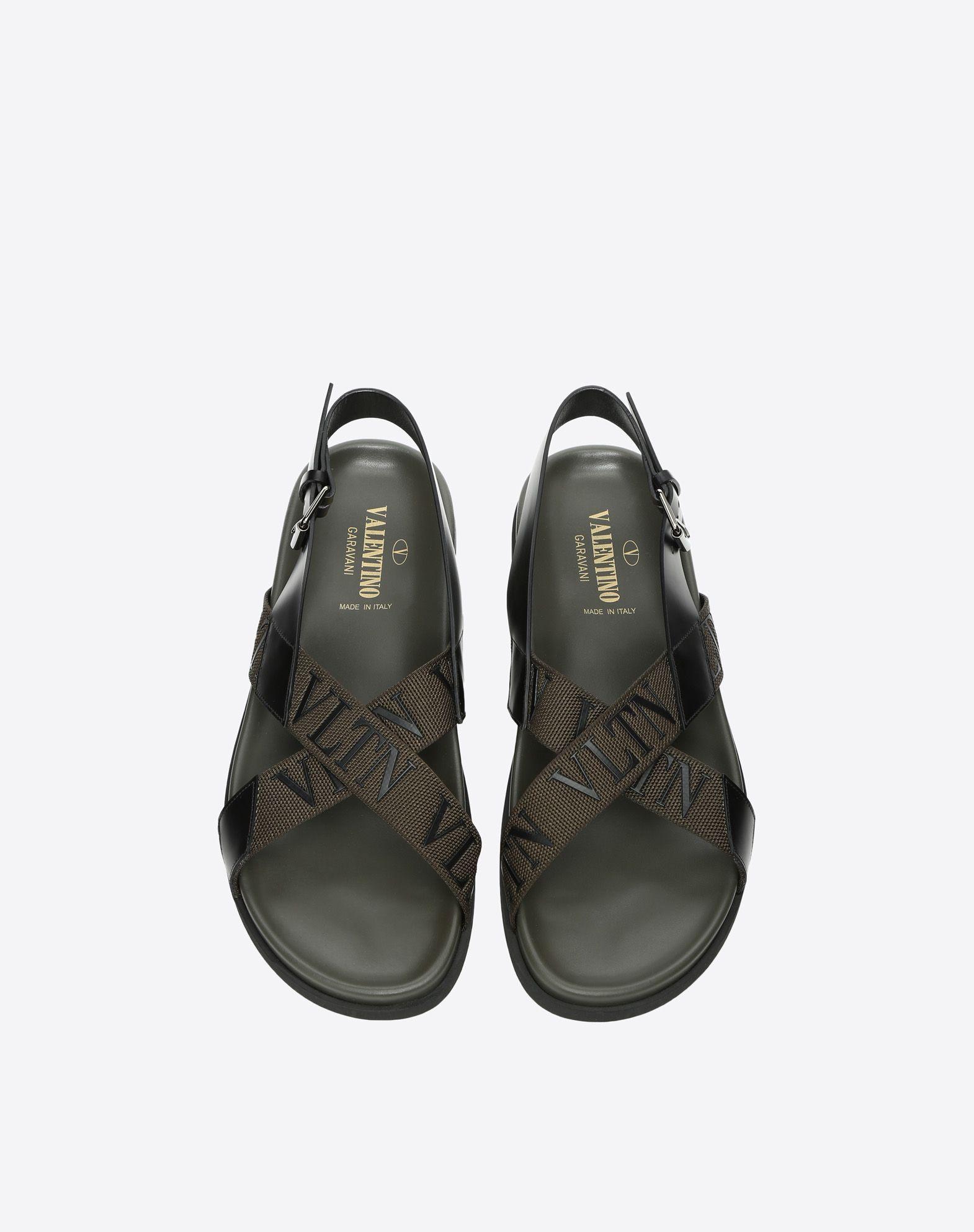 VALENTINO GARAVANI UOMO Low VLTN sandal  FLAT SANDALS U e