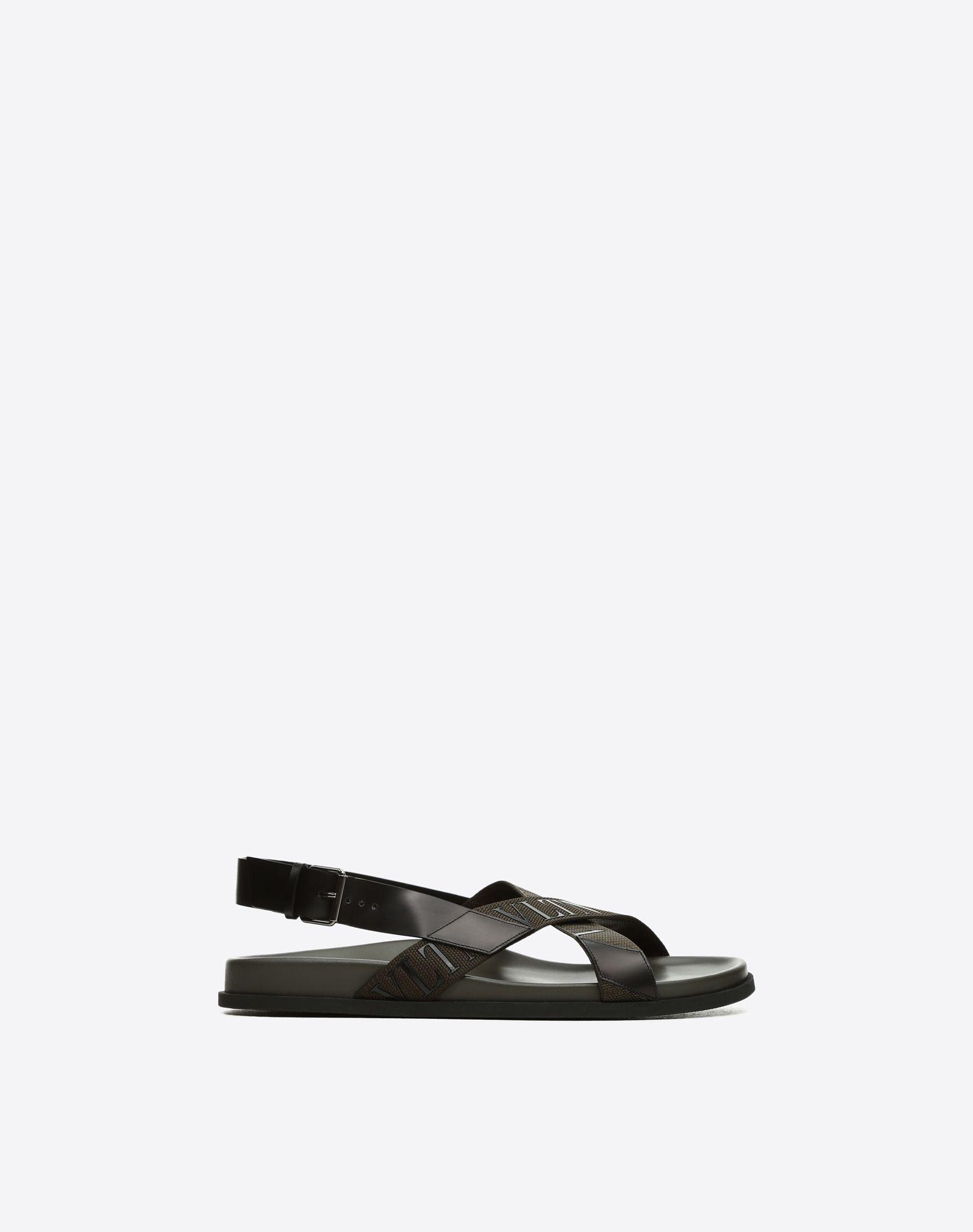 VALENTINO GARAVANI UOMO Low VLTN sandal  FLAT SANDALS U f