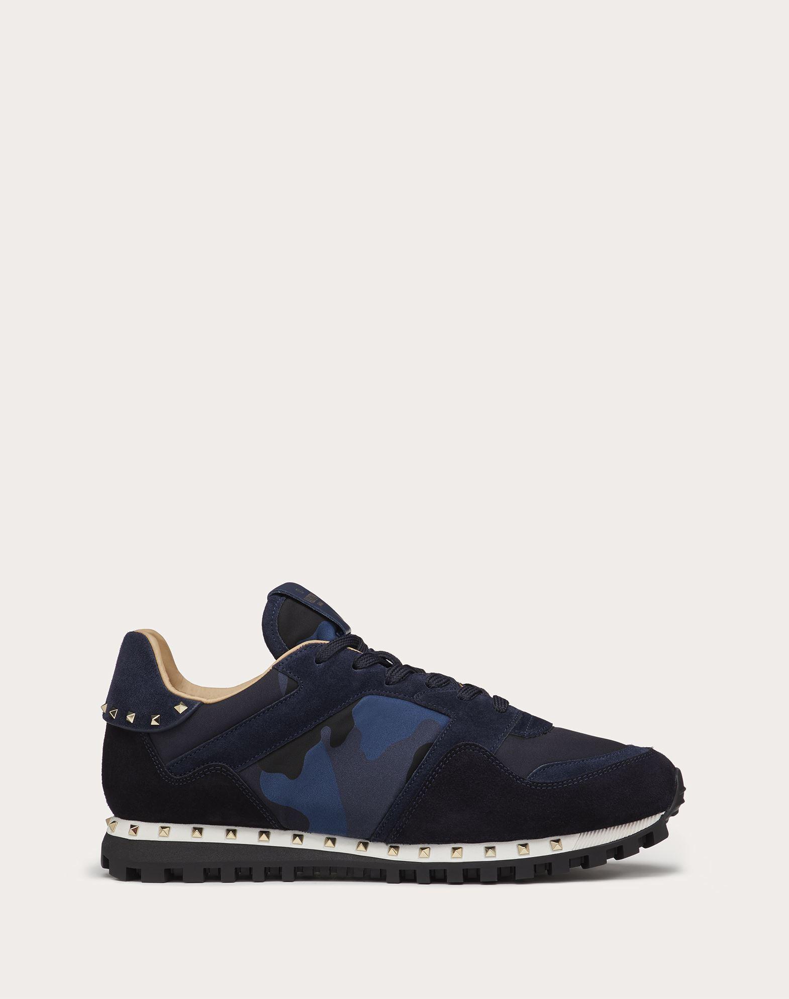 VALENTINO GARAVANI UOMO Sneaker Camuflaje LOW-TOP SNEAKERS U f
