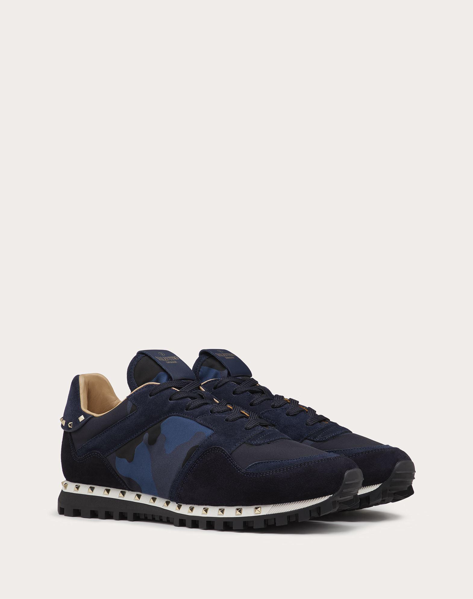 VALENTINO GARAVANI UOMO Sneaker Camuflaje LOW-TOP SNEAKERS U r