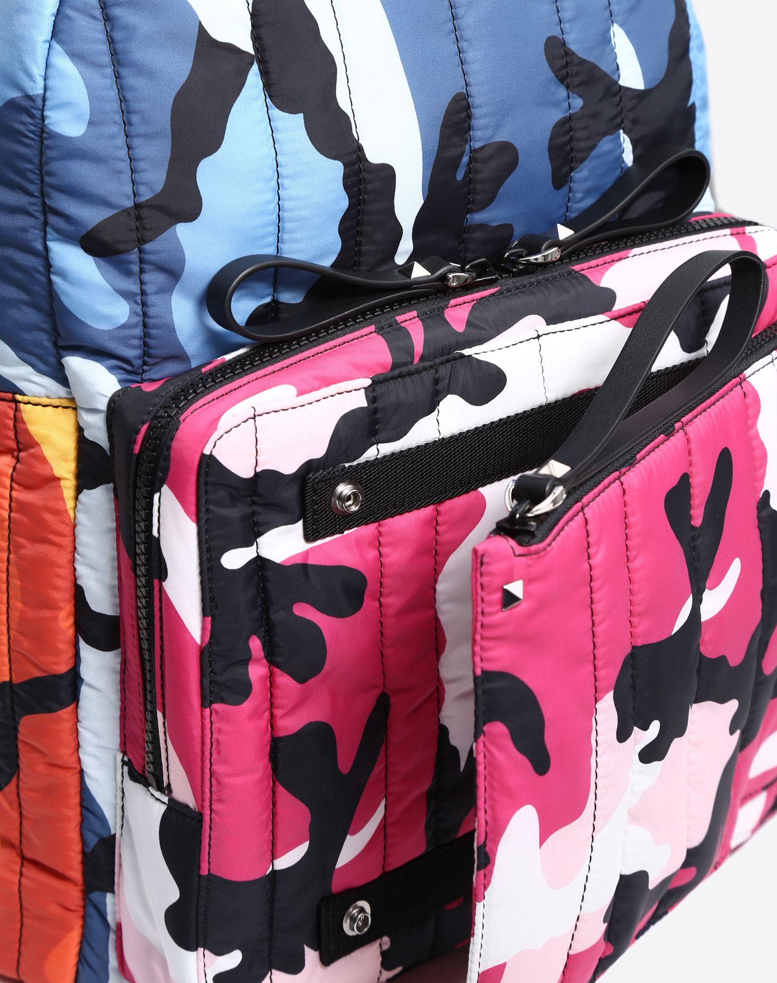 VALENTINO Camoushuffle rucksack Rucksack U b