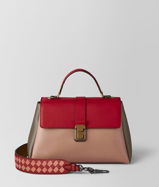 BORSA PIAZZA IN NAPPA DAHLIA MULTICOLOR