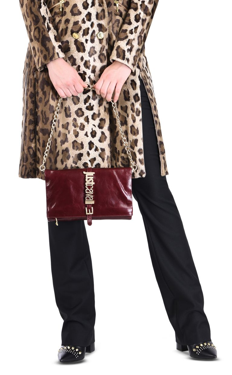 JUST CAVALLI Leather shoulder mini bag Crossbody Bag Woman r
