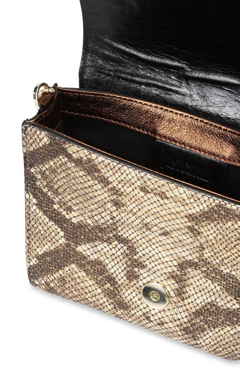 JUST CAVALLI Snake Head shoulder bag Crossbody Bag Woman a