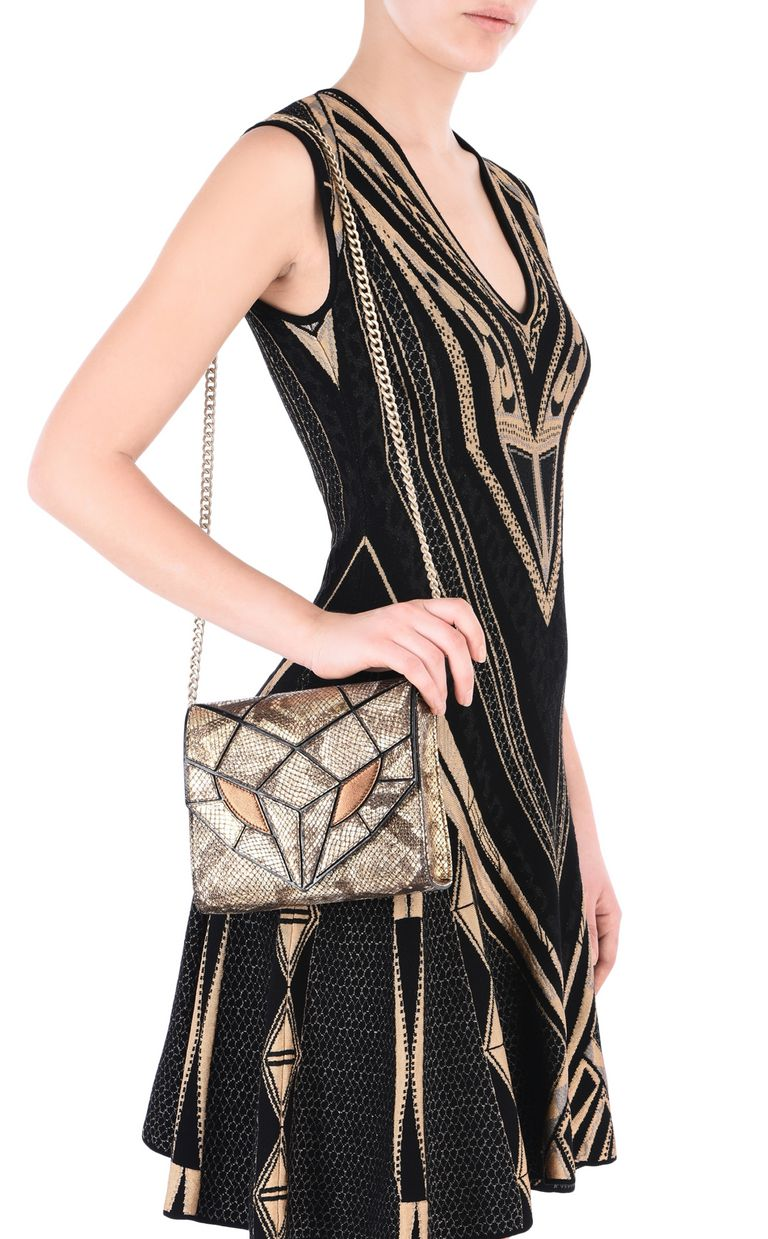 JUST CAVALLI Snake Head shoulder bag Crossbody Bag Woman r
