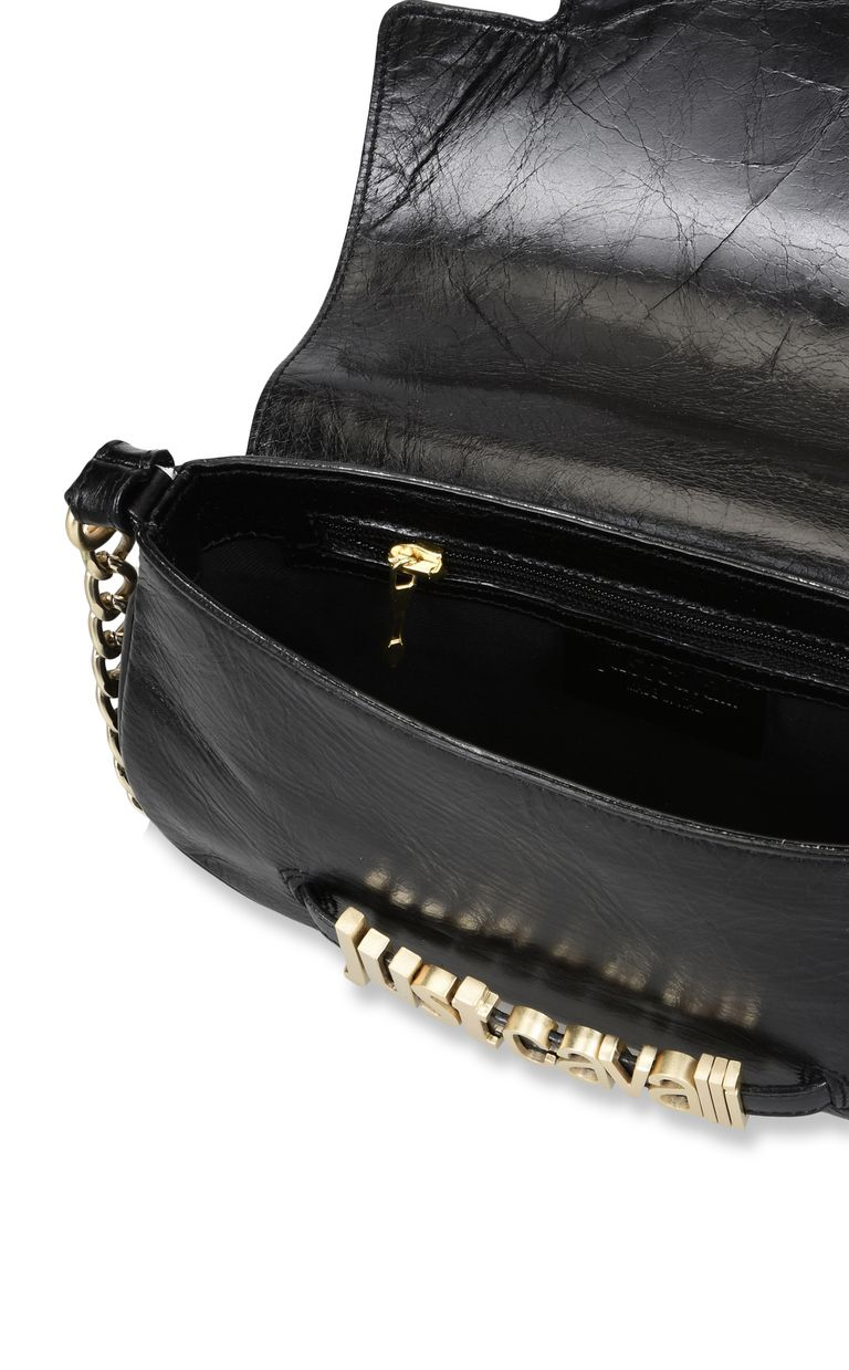JUST CAVALLI Shoulder bag with chain and logo Crossbody Bag [*** pickupInStoreShipping_info ***] a