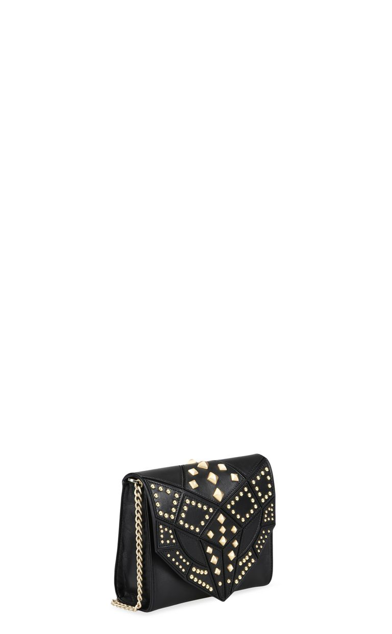 JUST CAVALLI Snake head shoulder bag with studs Crossbody Bag Woman d