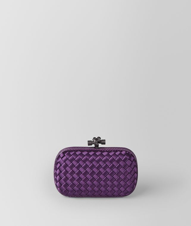 BOTTEGA VENETA KNOT TASCHE AUS INTRECCIATO IMPERO IN MONALISA Clutch [*** pickupInStoreShipping_info ***] fp