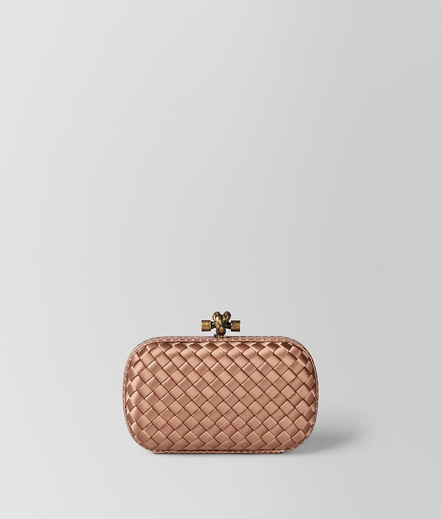BOTTEGA VENETA DAHLIA INTRECCIATO IMPERO KNOT Clutch [*** pickupInStoreShipping_info ***] fp