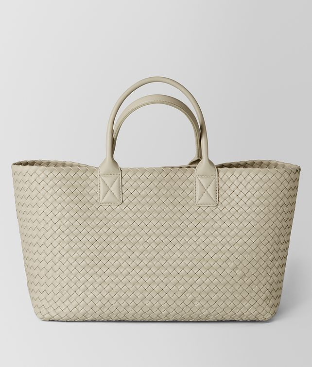 BOTTEGA VENETA CEMENT INTRECCIATO NAPPA CABAT Tote Bag [*** pickupInStoreShipping_info ***] fp