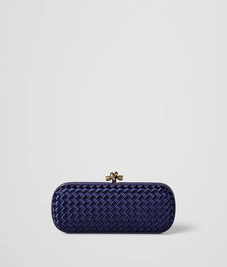 ATLANTIC INTRECCIATO IMPERO STRETCH KNOT CLUTCH