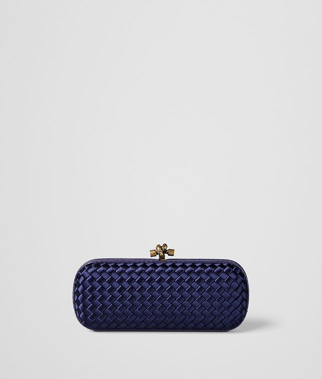 BOTTEGA VENETA ATLANTIC INTRECCIATO IMPERO STRETCH KNOT CLUTCH Clutch Woman fp