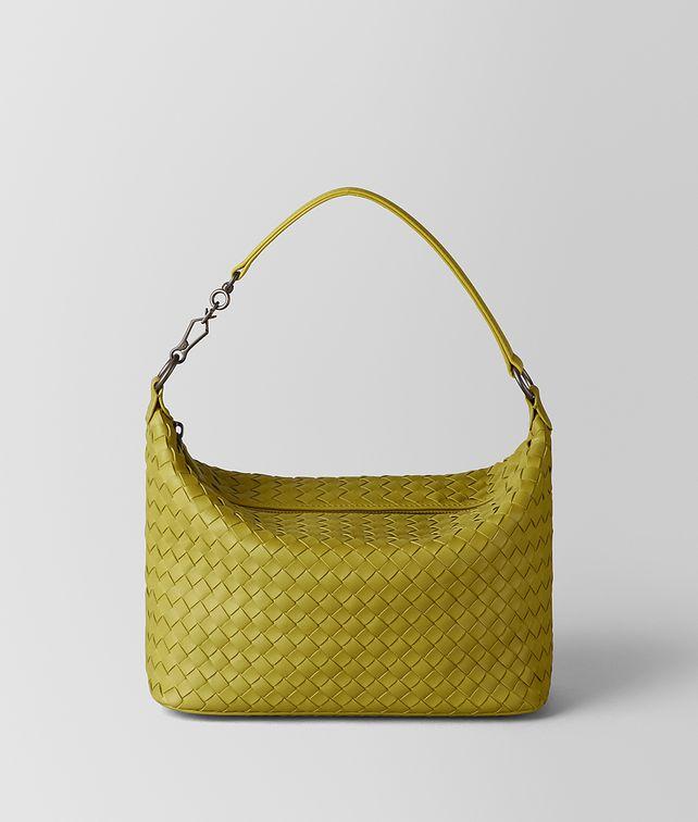 BOTTEGA VENETA CHAMOMILE INTRECCIATO NAPPA SHOULDER BAG Shoulder Bag Woman fp