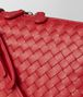 BOTTEGA VENETA BORSA MESSENGER IN INTRECCIATO NAPPA CHINA RED Borsa a Tracolla Donna ep