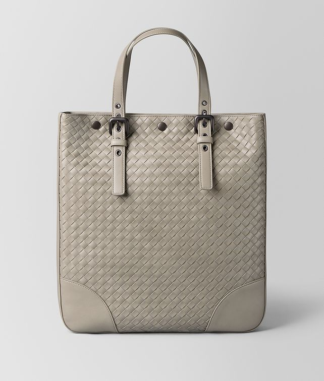 BOTTEGA VENETA DARK CEMENT INTRECCIATO VN AQUATRE Tote Bag Man fp