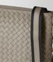 BOTTEGA VENETA DARK CEMENT INTRECCIATO VN SMALL MESSENGER Messenger Bag Man ep