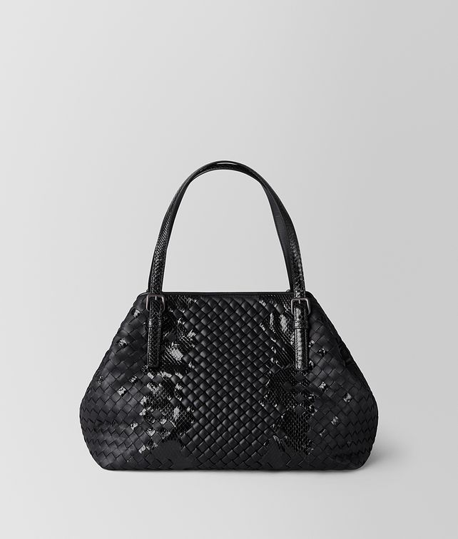 93f5c132ca BOTTEGA VENETA NERO INTRECCIATO IMPERATRICE TOTE Tote Bag       pickupInStoreShipping info