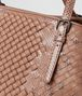 BOTTEGA VENETA SHOPPER IN INTRECCIO IMPERATRICE DAHLIA Borsa Shopping Donna ep