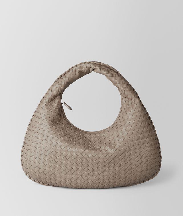 BOTTEGA VENETA LIMESTONE INTRECCIATO NAPPA VENETA BAG Hobo Bag Woman fp