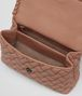 BOTTEGA VENETA BORSA OLIMPIA MICRO BORCHIE IN NAPPA DAHLIA Shoulder Bag Donna dp