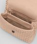 BOTTEGA VENETA BORSA OLIMPIA IN INTRECCIATO VITELLO PEACH ROSE Shoulder Bag Donna dp