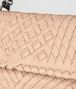 BOTTEGA VENETA PEACH ROSE INTRECCIATO CALF OLIMPIA BAG Shoulder Bag Woman ep