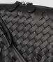 BOTTEGA VENETA NERO INTRECCIATO BRIO MESSENGER Crossbody bag Woman ep