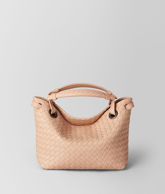 BOTTEGA VENETA PEACH ROSE INTRECCIATO NAPPA SHOULDER BAG Shoulder Bag [*** pickupInStoreShipping_info ***] fp