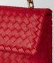 BOTTEGA VENETA BORSA BABY OLIMPIA IN INTRECCIATO NAPPA CHINA RED Shoulder Bag Donna ep