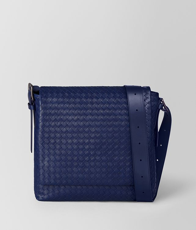 BOTTEGA VENETA ATLANTIC INTRECCIATO CALF MESSENGER Messenger Bag [*** pickupInStoreShippingNotGuaranteed_info ***] fp