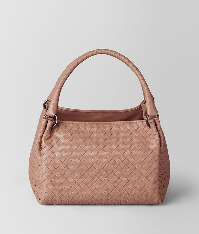 BOTTEGA VENETA DAHLIA INTRECCIATO NAPPA PARACHUTE BAG Shoulder Bag Woman fp