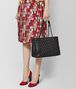 BOTTEGA VENETA SHOPPER MICRO BORCHIE IN NAPPA NERO Borsa Shopping Donna ap