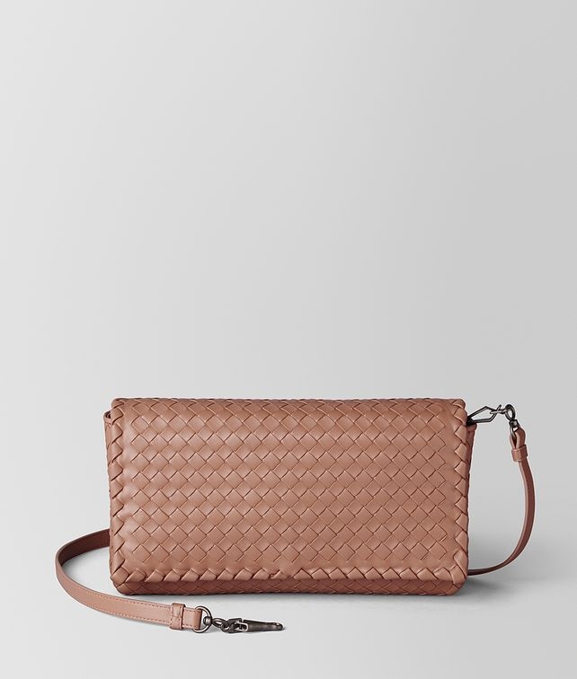 BOTTEGA VENETA DAHLIA INTRECCIATO NAPPA CLUTCH Crossbody bag Woman fp