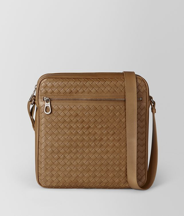 BOTTEGA VENETA CAMEL INTRECCIATO VN MESSENGER Messenger Bag [*** pickupInStoreShippingNotGuaranteed_info ***] fp